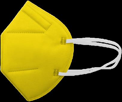 FFP2-Maske gelb