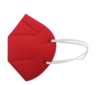 FFP2-Maske rot