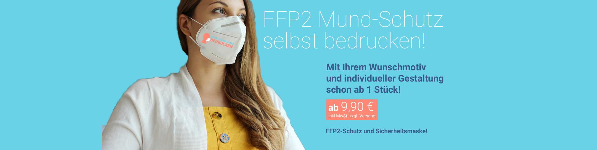 FFP-2 Masken Banner